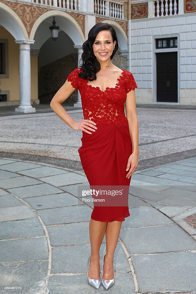 <a gi-track='captionPersonalityLinkClicked' href=/galleries/search?phrase=Julie+Benz&family=editorial&specificpeople=217554 ng-click='$event.stopPropagation()'>Julie Benz</a> attends a Cocktail Reception at Monaco Palace on June 9, 2014 in Monte-Carlo, Monaco.