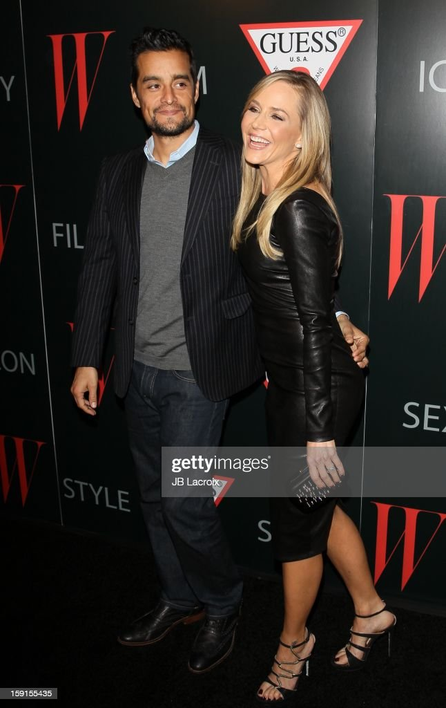Julie Benz attends the W Magazine & Guess Host 30 Years of Fashion & Film Next Generation of Style Party at Laurel Hardware on January 8, 2013 in West Hollywood, California.