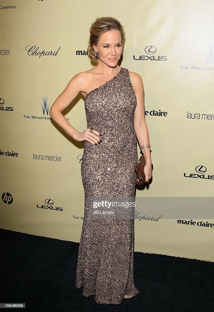 Julie Benz attends The Weinstein Company's 2013 Golden Globes After Party at The Beverly Hilton Hotel on January 13, 2013 in Beverly Hills, California.