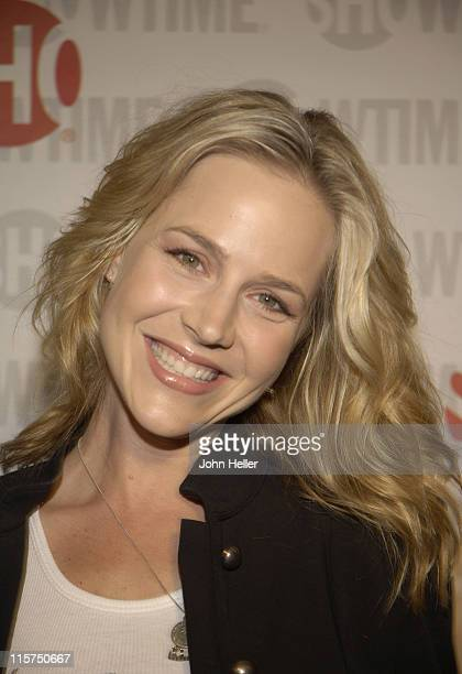 Julie Benz during Showtime's 'Sleeper Cell' Premiere Arrivals at The Majestic Crest Theatre in Los Angeles California United States