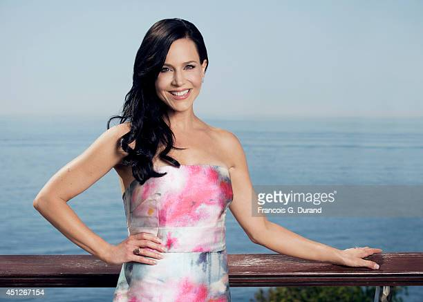 Julie Benz poses for a portrait at the 54th Monte Carlo TV Festival on June 11 2014 in MonteCarlo Monaco