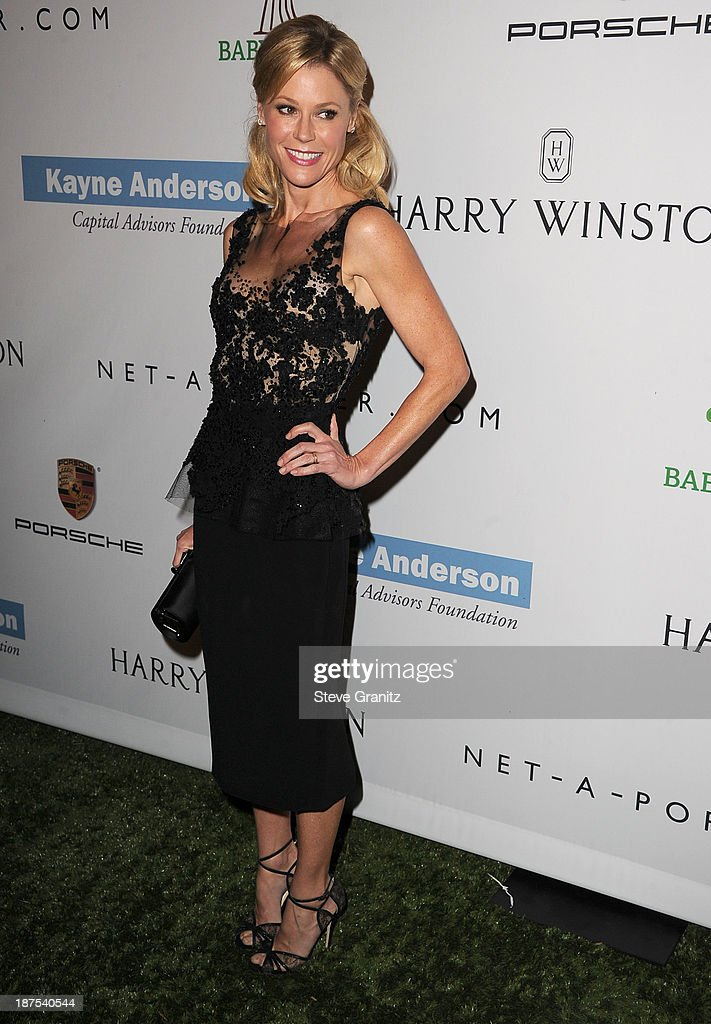 Julie Bowen arrives at the 2nd Annual Baby2Baby Gala at The Book Bindery on November 9, 2013 in Culver City, California.