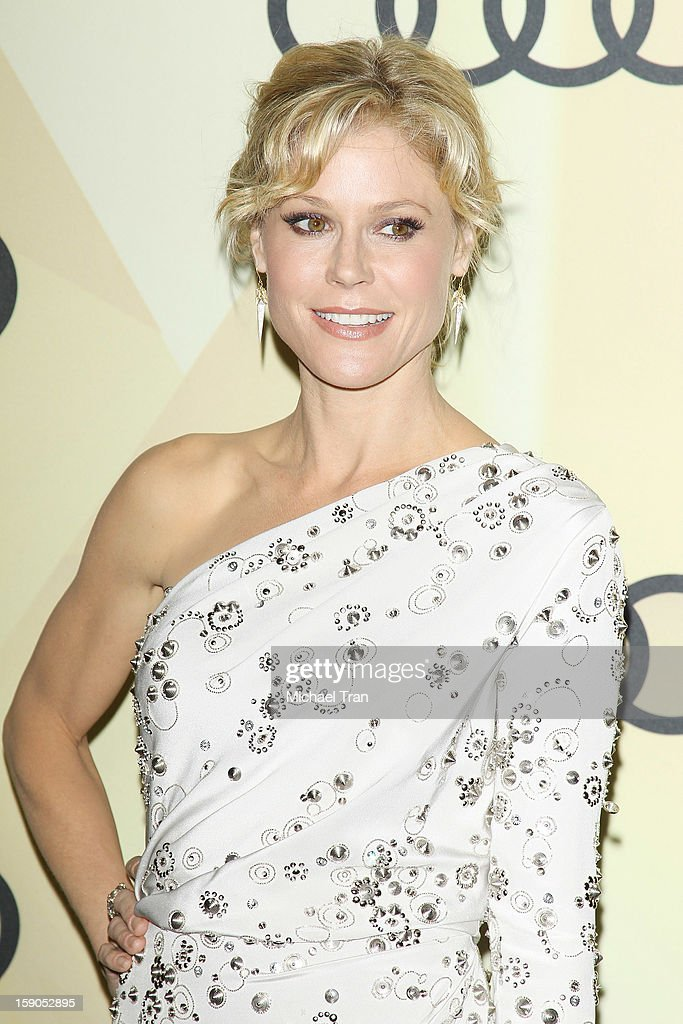 Julie Bowen arrives at the Audi Golden Globe 2013 kick off cocktail party held at Cecconi's Restaurant on January 6, 2013 in Los Angeles, California.