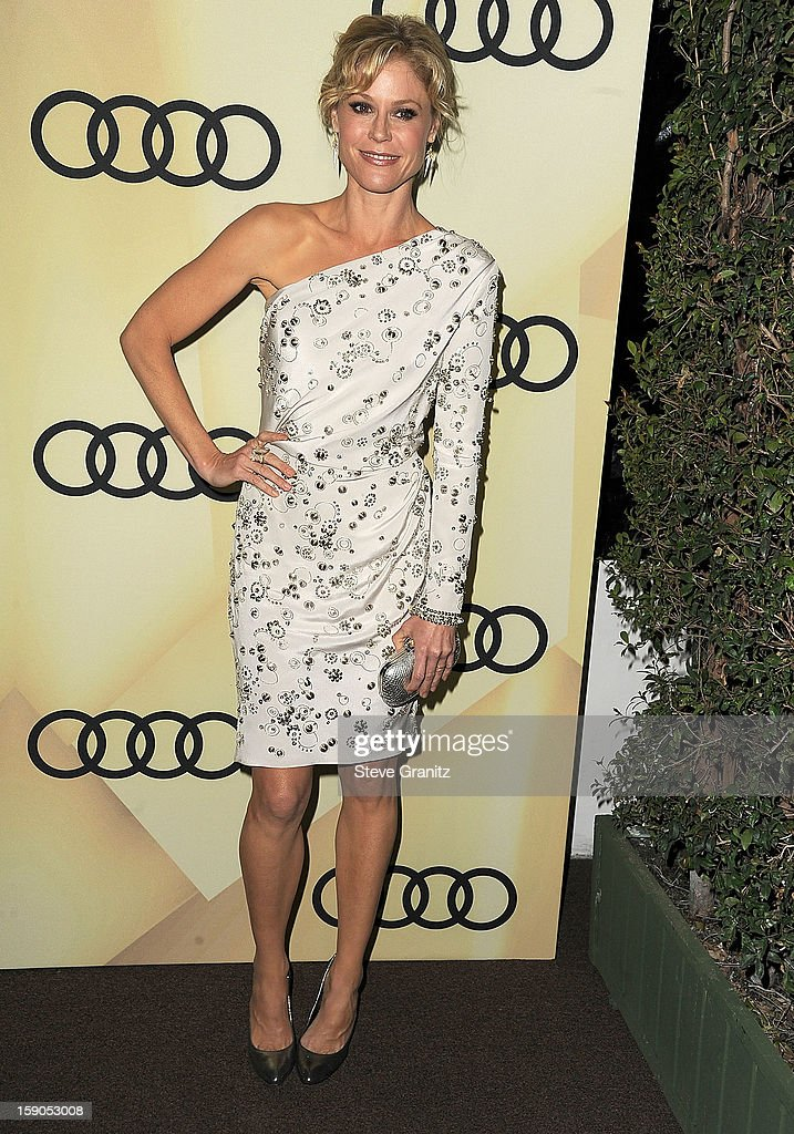 Julie Bowen arrives at the Audi Golden Globe 2013 Kick Off Cocktail Party at Cecconi's Restaurant on January 6, 2013 in Los Angeles, California.