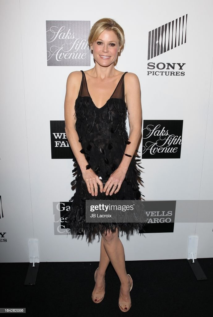 <a gi-track='captionPersonalityLinkClicked' href=/galleries/search?phrase=Julie+Bowen&family=editorial&specificpeople=244057 ng-click='$event.stopPropagation()'>Julie Bowen</a> attends 'An Evening' benefiting The L.A. Gay & Lesbian Center at the Beverly Wilshire Four Seasons Hotel on March 21, 2013 in Beverly Hills, California.