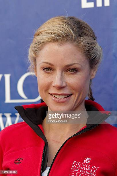 Julie Bowen attends the 17th Annual EIF Revlon Run/Walk For Women at Los Angeles Memorial Coliseum on May 8 2010 in Los Angeles California
