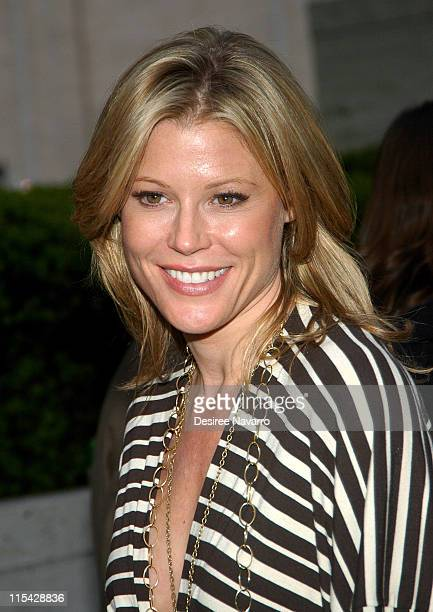 Julie Bowen during ABC Upfront 2006/2007 Departures at Lincoln Center in New York City New York United States