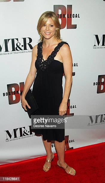 Julie Bowen during 'Boston Legal' Season One DVD Debut Party at The 21 Club in New York City New York United States