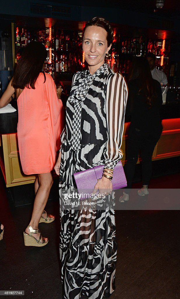 Julie Brangstrup attends Jo Wood and Yasmin Mill's Summer Party at Boujis on July 9, 2014 in London, England.
