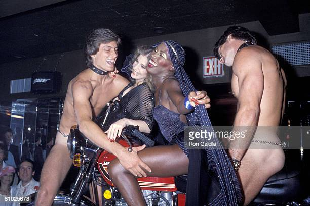 Julie Budd Grace Jones and guests