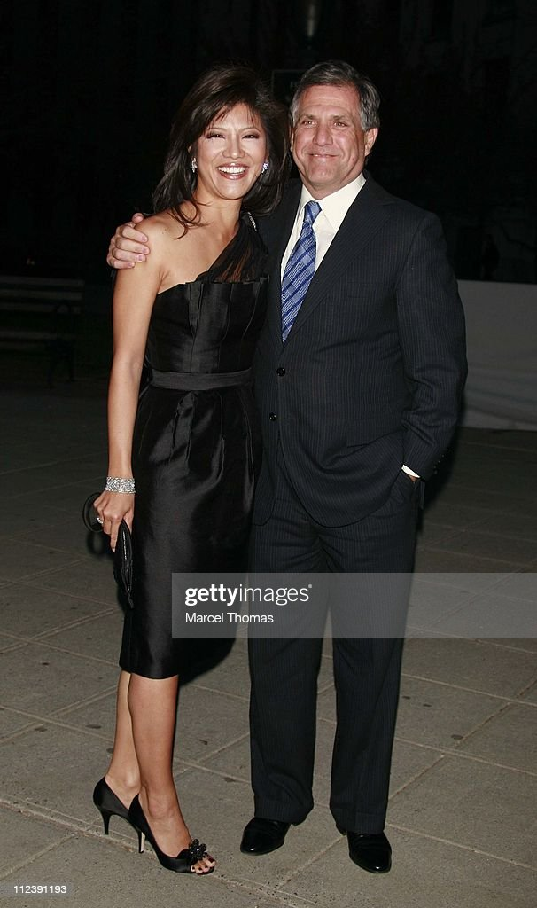 Julie Chen and Les Moonves during Vanity Fair Hosts The Sixth Annual Tribeca Film Festival Opening Night Party April 24 2007 at New York State...
