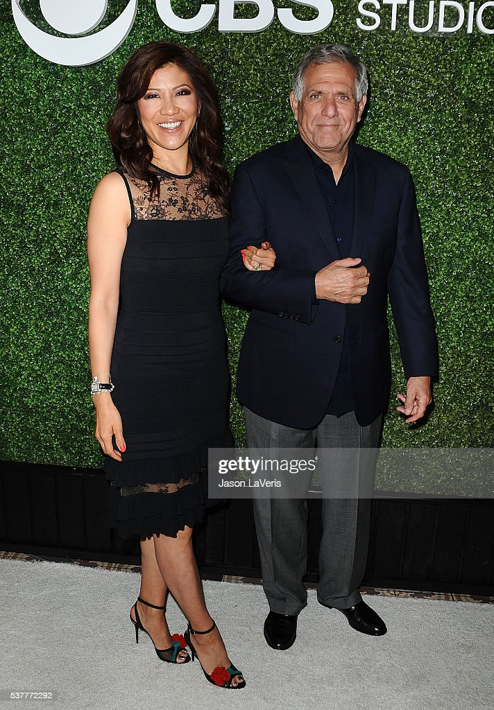 Julie Chen and Leslie Moonves attend the 4th annual CBS Television Studios Summer Soiree at Palihouse on June 2 2016 in West Hollywood California