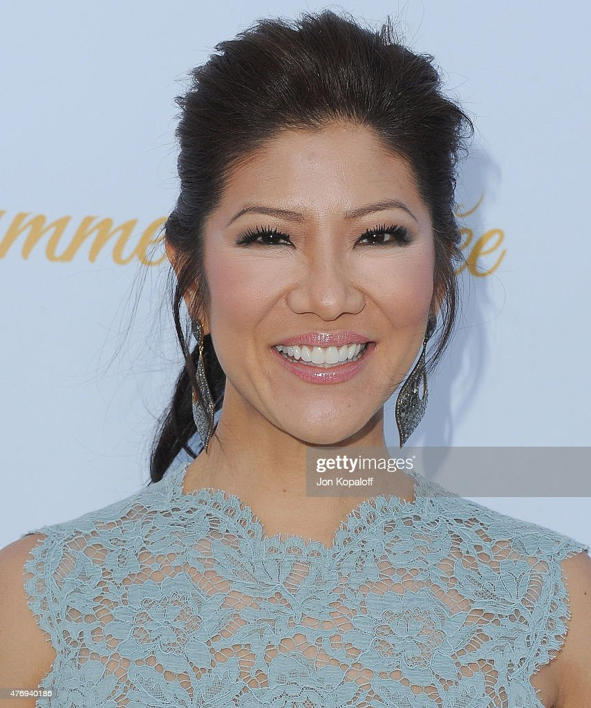 Julie Chen arrives at CBS Television Studios 3rd Annual Summer Soiree Party at The London Hotel on May 18 2015 in West Hollywood California