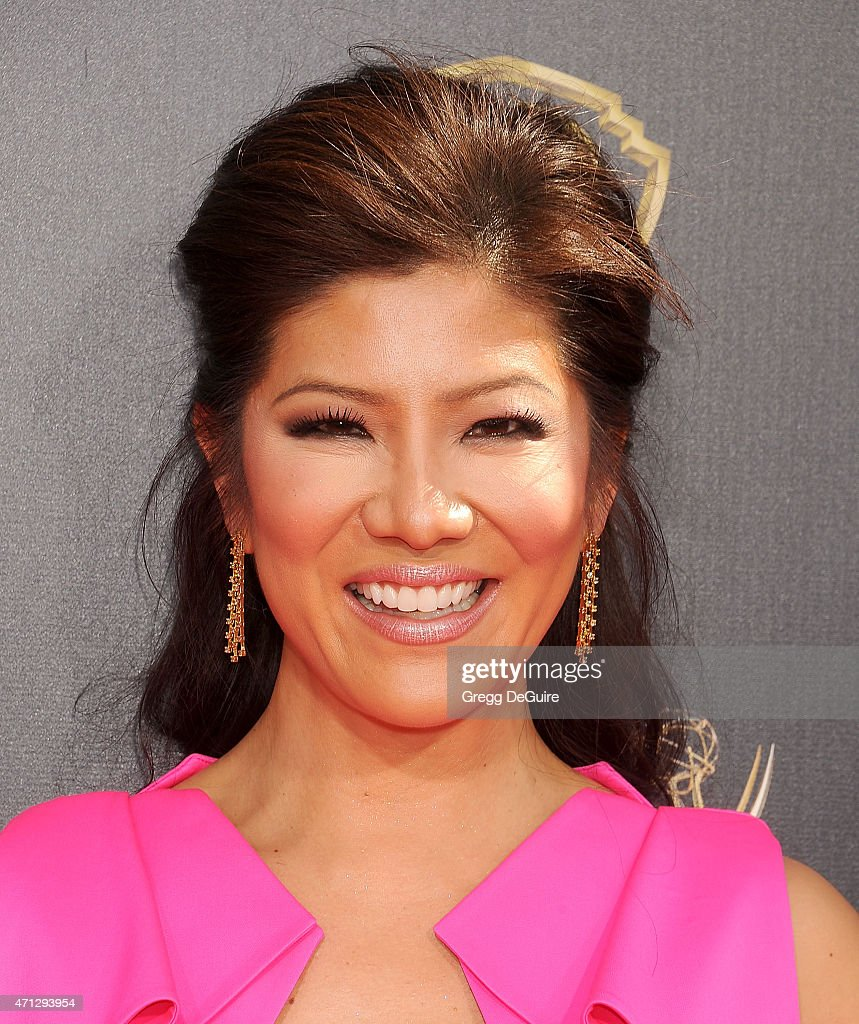 <a gi-track='captionPersonalityLinkClicked' href=/galleries/search?phrase=Julie+Chen&family=editorial&specificpeople=206213 ng-click='$event.stopPropagation()'>Julie Chen</a> arrives at the 42nd Annual Daytime Emmy Awards at Warner Bros. Studios on April 26, 2015 in Burbank, California.