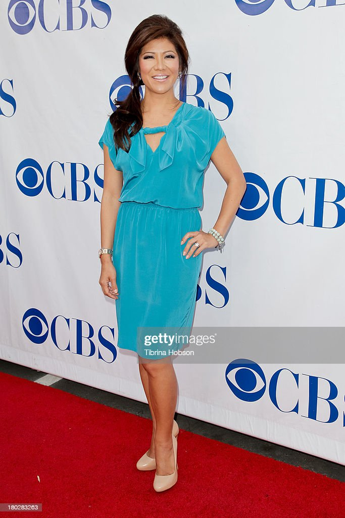 Julie Chen attends CBS Television Studios 1st annual national 'TV Dinner Night' for new comedies at CBS Studios on September 10 2013 in Studio City...