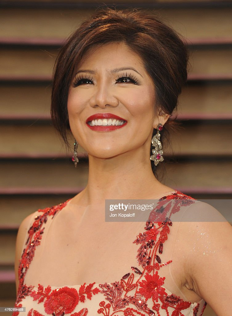 Julie Chen attends the 2014 Vanity Fair Oscar Party hosted by Graydon Carter on March 2 2014 in West Hollywood California