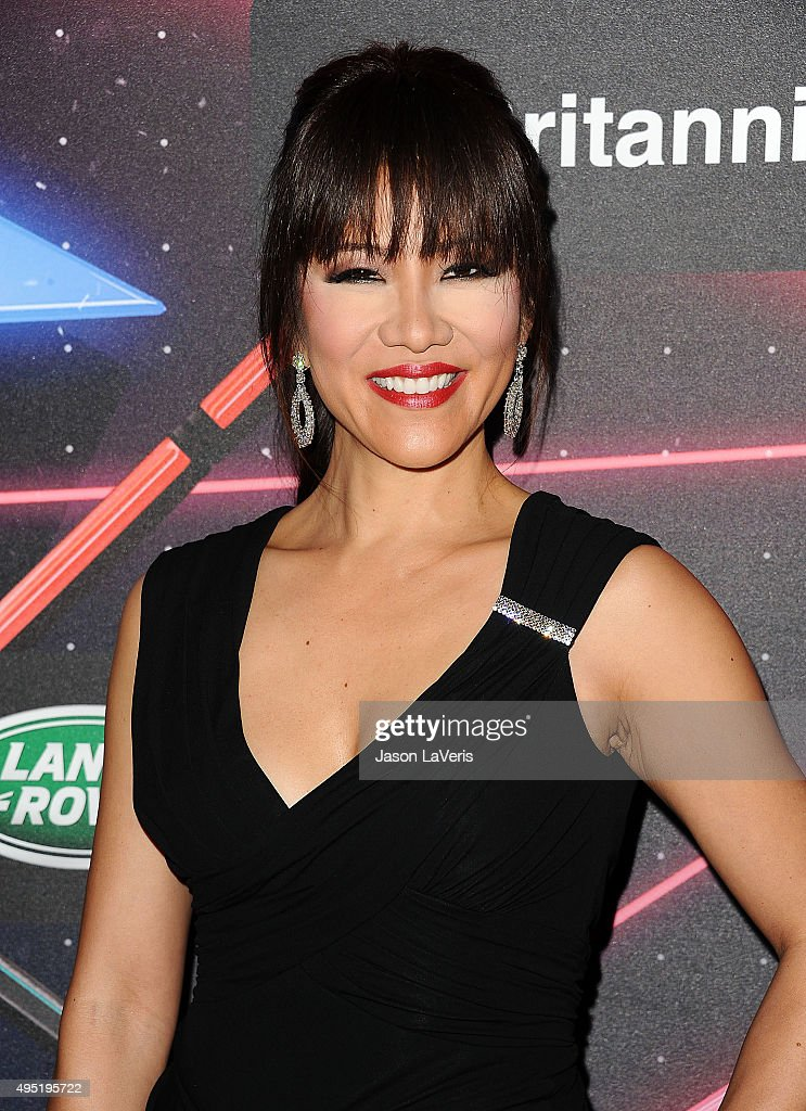 Julie Chen attends the 2015 British Academy Britannia Awards at The Beverly Hilton Hotel on October 30 2015 in Beverly Hills California