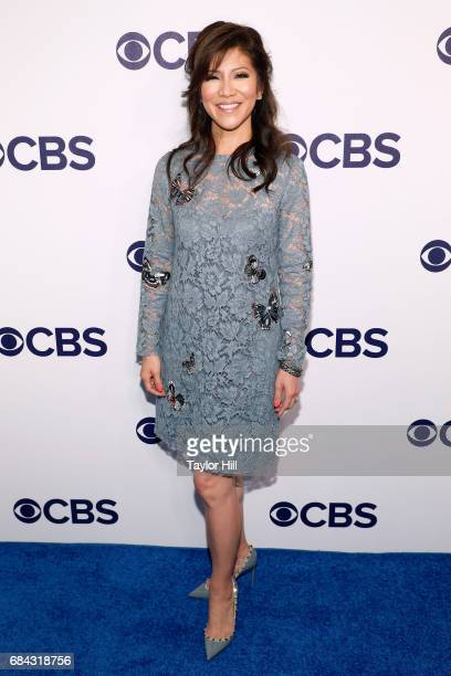 Julie Chen attends the 2017 CBS Upfront at The Plaza Hotel on May 17 2017 in New York City