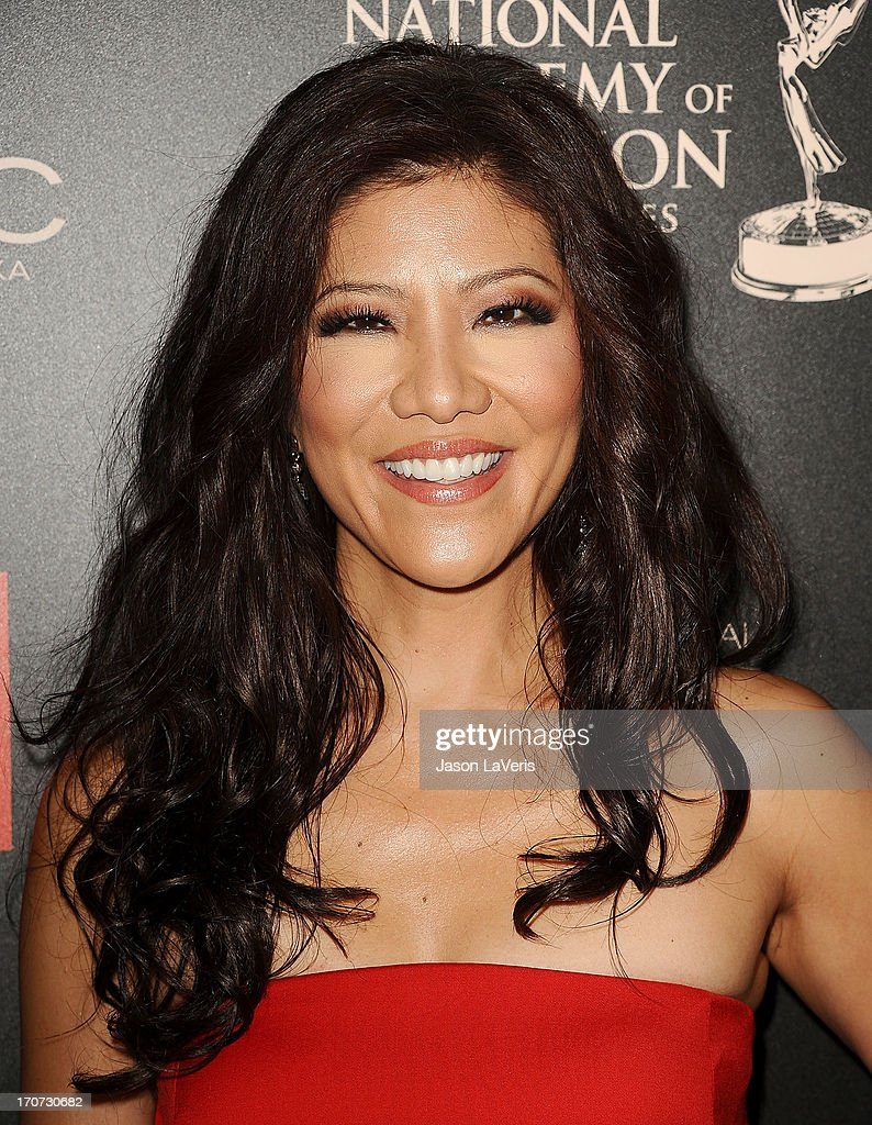 <a gi-track='captionPersonalityLinkClicked' href=/galleries/search?phrase=Julie+Chen&family=editorial&specificpeople=206213 ng-click='$event.stopPropagation()'>Julie Chen</a> attends the 40th annual Daytime Emmy Awards at The Beverly Hilton Hotel on June 16, 2013 in Beverly Hills, California.