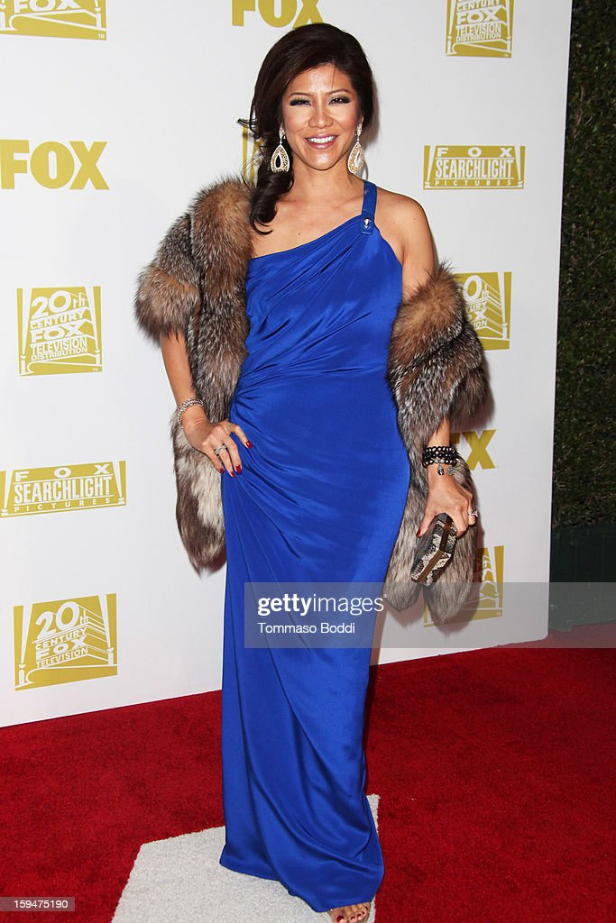 Julie Chen attends the FOX Golden Globe after party held at the FOX Pavilion at the Golden Globes on January 13, 2013 in Beverly Hills, California.