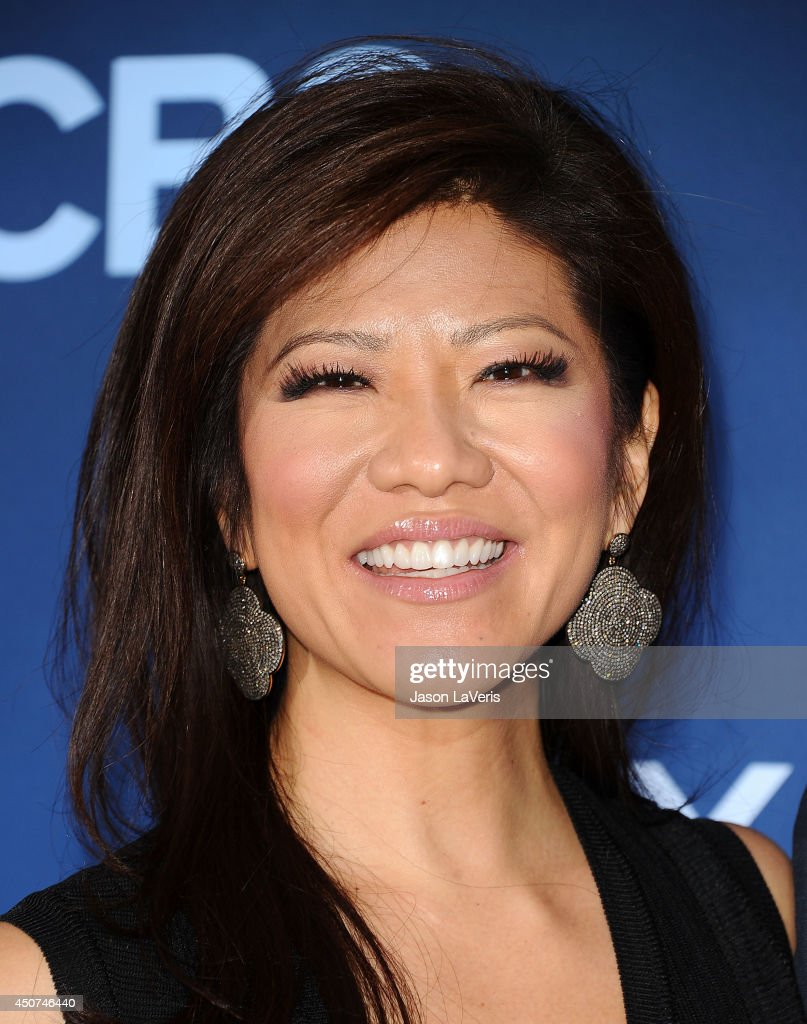 <a gi-track='captionPersonalityLinkClicked' href=/galleries/search?phrase=Julie+Chen&family=editorial&specificpeople=206213 ng-click='$event.stopPropagation()'>Julie Chen</a> attends the premiere of 'Extant' at California Science Center on June 16, 2014 in Los Angeles, California.