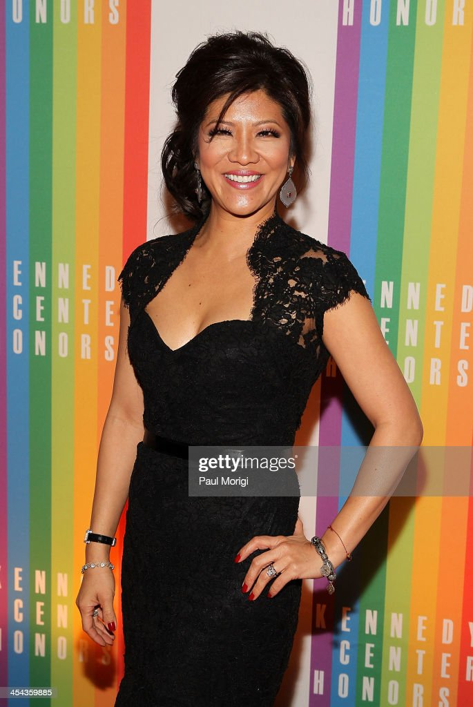 <a gi-track='captionPersonalityLinkClicked' href=/galleries/search?phrase=Julie+Chen&family=editorial&specificpeople=206213 ng-click='$event.stopPropagation()'>Julie Chen</a> attends the The 36th Kennedy Center Honors gala at The Kennedy Center on December 8, 2013 in Washington, DC.