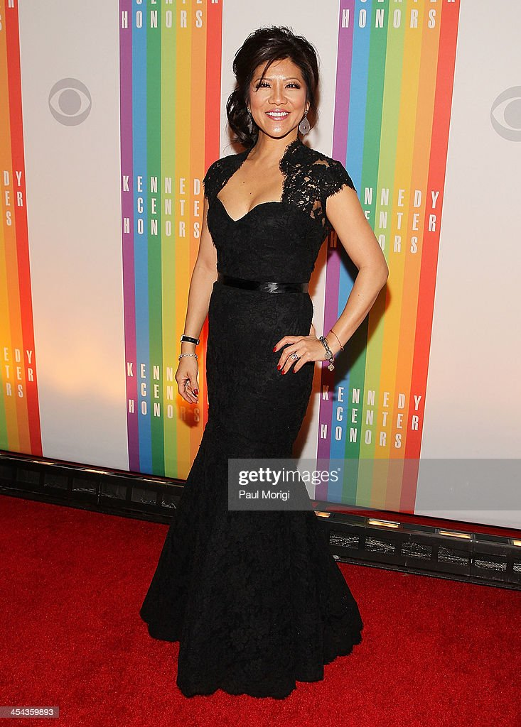 Julie Chen attends the The 36th Kennedy Center Honors gala at The Kennedy Center on December 8, 2013 in Washington, DC.