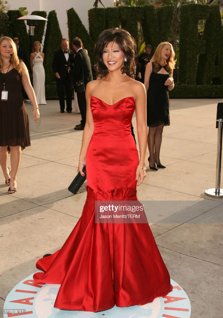 Julie Chen during 2006 Vanity Fair Oscar Party at Morton's in West Hollywood California United States