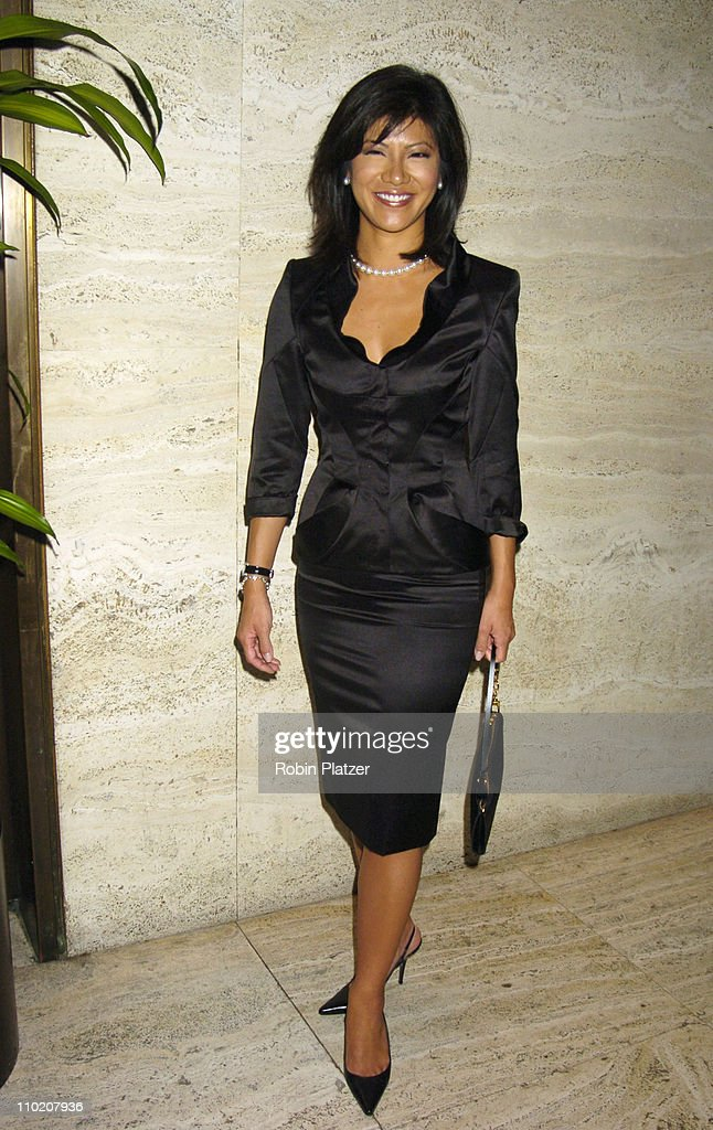 Julie Chen during Newsweek Party for The Republican Convention Given by Lally Weymouth at The Four Seasons Restaurant in New York New York United...