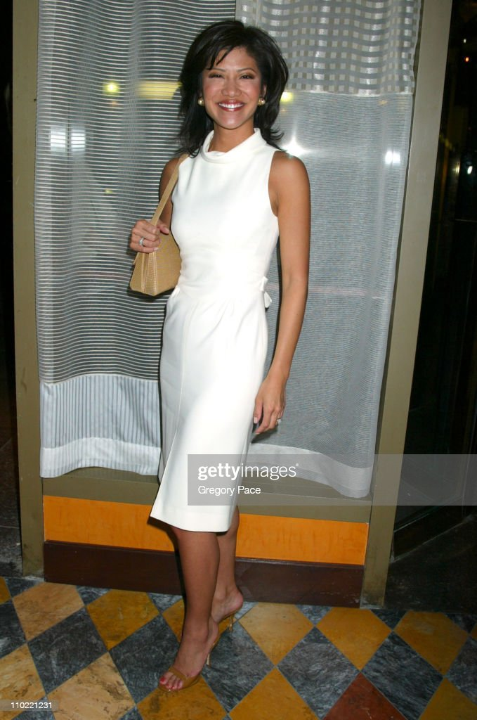 Julie Chen during Opening Party For Bobby Flay's New Restaurant Bar Americain at Bar Americain in New York City New York United States