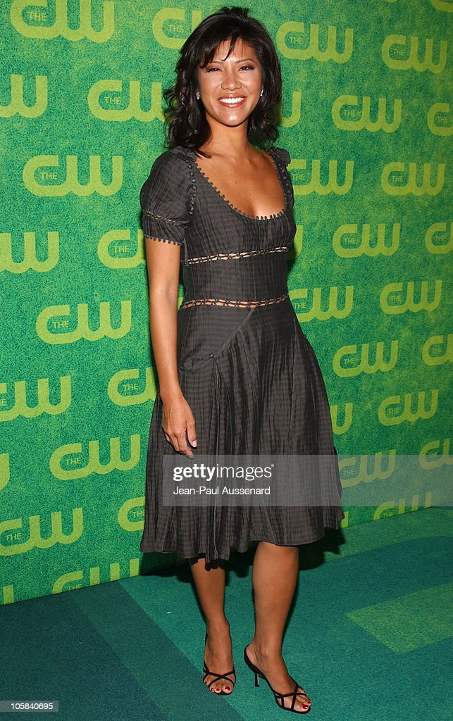 Julie Chen during The CW Summer 2006 TCA Party Arrivals at Ritz Carlton in Pasadena California United States
