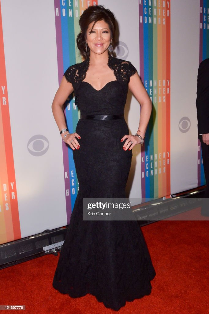 Julie Chen poses on the red carpet during the The 36th Kennedy Center Honors gala at the Kennedy Center on December 8, 2013 in Washington, DC.