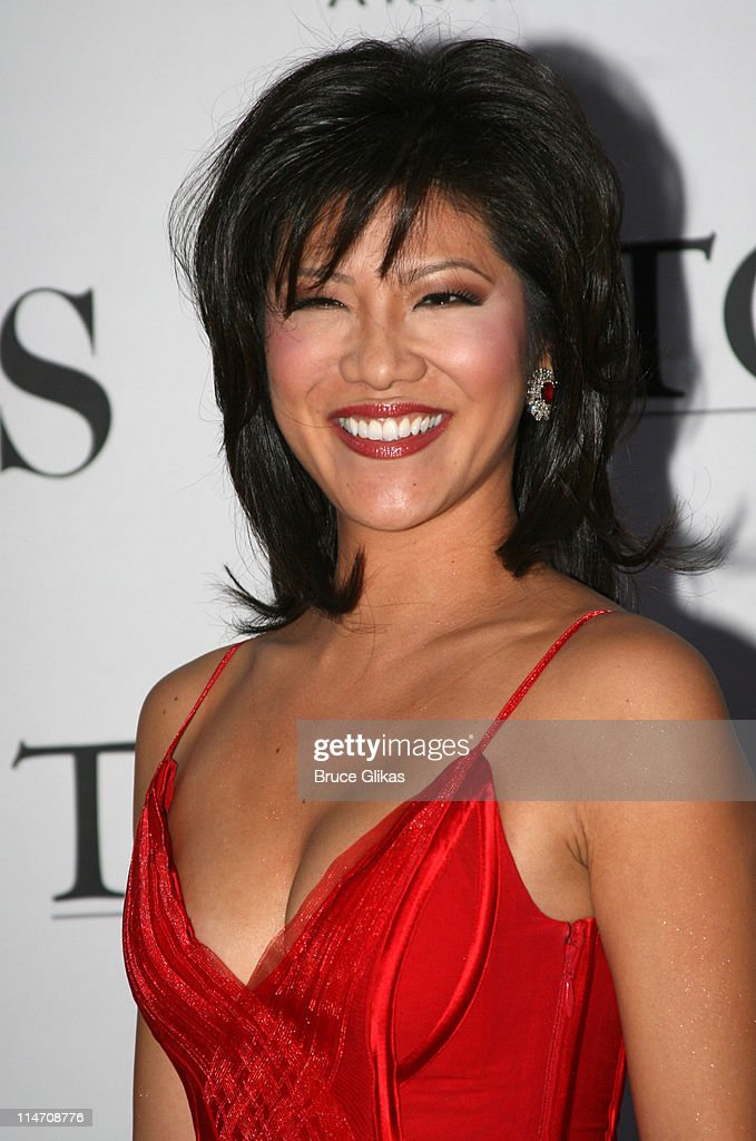 <a gi-track='captionPersonalityLinkClicked' href=/galleries/search?phrase=Julie+Chen&family=editorial&specificpeople=206213 ng-click='$event.stopPropagation()'>Julie Chen</a>, (CBS) The Early Show anchorwoman during 60th Annual Tony Awards - Arrivals at Radio City Music Hall in New York City, New York, United States.