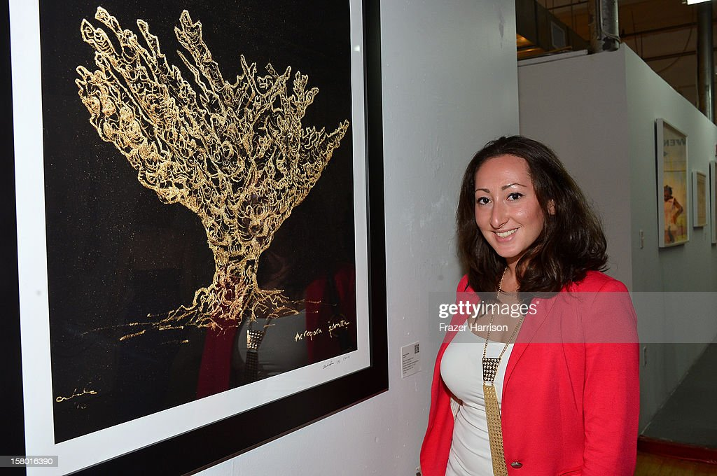 Julie Chernavsky attends the Art Miami after party at Bakehouse Art Complex on December 8, 2012 in Miami, Florida.