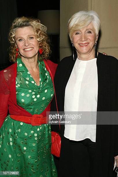 Julie Christie and Olympia Dukakis during 'Away From Her' New York Premiere Hosted by The Cinema Society and The Wall Street Journal After Party at...