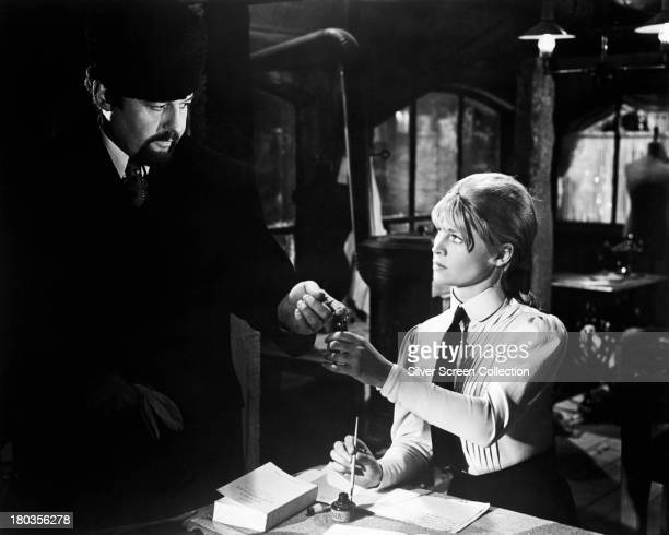 Julie Christie as Lara and Rod Steiger as Victor Komarovsky in 'Doctor Zhivago' directed by David Lean 1965