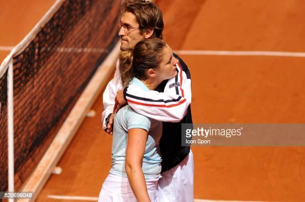 Julie COIN / Nicolas ESCUDE France / Usa Fed Cup 2010 Lievin