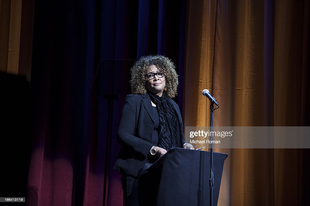 Julie Dash attends the Roger Ebert Memorial Tribute at Chicago Theatre on April 11, 2013 in Chicago, Illinois.