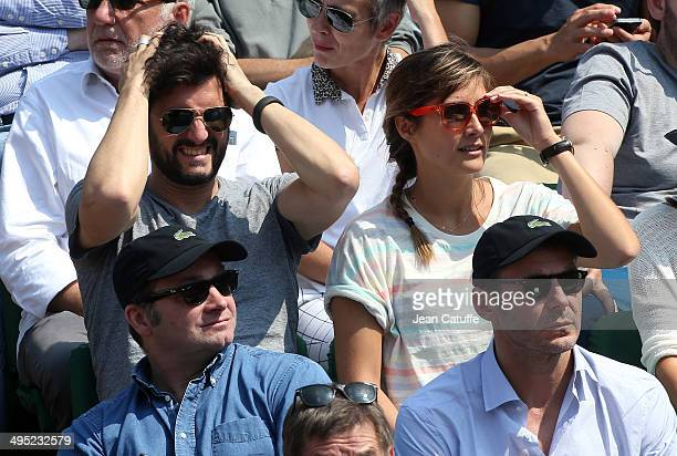 Julie de Bona attends Day 7 of the French Open 2014 held at RolandGarros stadium on May 31 2014 in Paris France