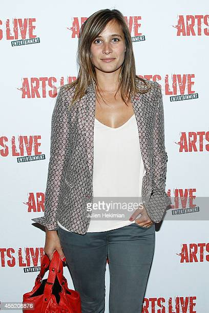 Julie de Bona attends 'Open Space' Premiere At Theatre du Rond Point on September 10 2014 in Paris France