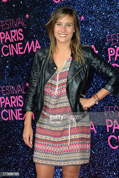 Julie de Bona attends the Festival Paris Cinema Opening Night And Premiere Of 'La Venus A La Fourrure' at the Gaumont Capucines on June 27 2013 in...
