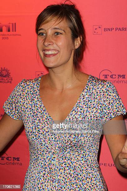 Julie De Bona attends the 'Ne Quelque Part' Premiere As Part of The Champs Elysees Film Festival 2013 at UGC George V on June 15 2013 in Paris France