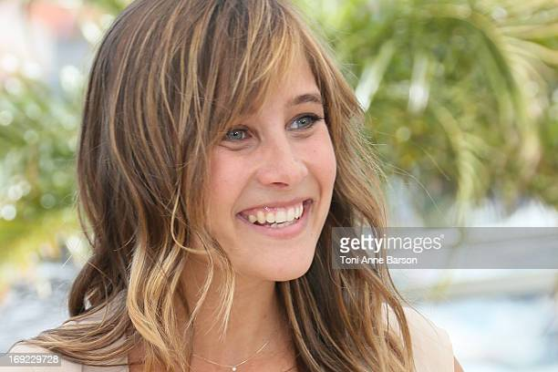 Julie de Bona attends the photocall for 'Ne Quelque Part' during The 66th Annual Cannes Film Festival at Palais des Festivals on May 21 2013 in...