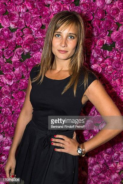 Julie de Bona attends the Piaget Rose Day Private Event in Orangerie Ephemere at Jardin des Tuileries on June 13 2013 in Paris France