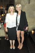 Julie Delpy and Vanessa Bruno attend Vanessa Bruno Dinner at Chateau Marmont on July 21 2010 in Los Angeles California