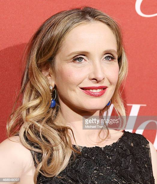 Julie Delpy arrives at The Hollywood Reporter's Annual Nominees Night party held at Spago on February 10 2014 in Beverly Hills California