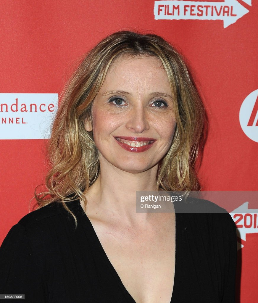 <a gi-track='captionPersonalityLinkClicked' href=/galleries/search?phrase=Julie+Delpy&family=editorial&specificpeople=201914 ng-click='$event.stopPropagation()'>Julie Delpy</a> attends the 'Before Midnight' premiere at Eccles Center Theatre during the 2013 Sundance Film Festival on January 20, 2013 in Park City, Utah.