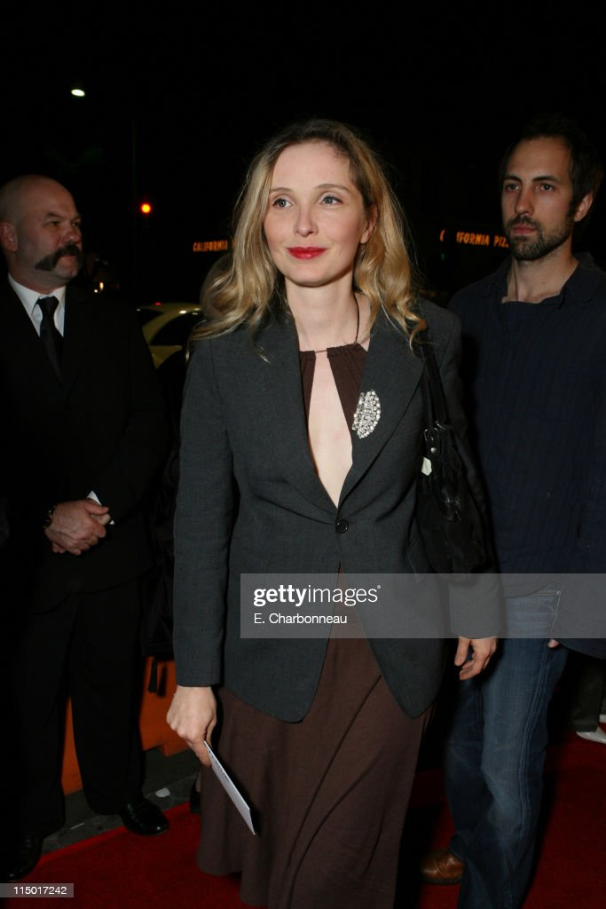 <a gi-track='captionPersonalityLinkClicked' href=/galleries/search?phrase=Julie+Delpy&family=editorial&specificpeople=201914 ng-click='$event.stopPropagation()'>Julie Delpy</a> during Special Presentation of Paramount Vantage's 'Babel' at Mann Village Theatre in Westwood, CA, United States.