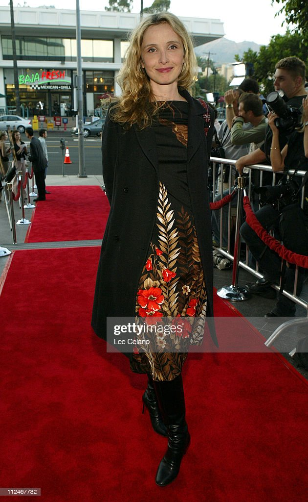 Julie Delpy during 'We Don't Live Here Anymore' Los Angeles Premiere - Red Carpet at Director's Guild of America Theatre in Hollywood, California, United States.