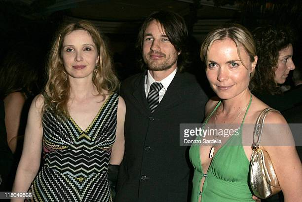 Julie Delpy Martin Henderson and Radha Mitchell during 5th Annual Oscar Celebration of New Zealand Filmmaking at Beverly Hills Hotel in Beverly Hills...